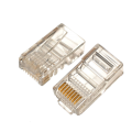 RJ45 plug Cat 5e 8p8cs, no metal, 50Τμχ